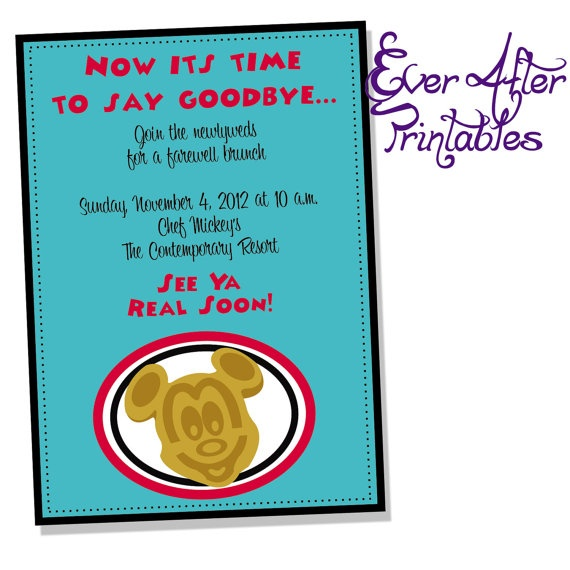 funny farewell invitations   just b.CAUSE