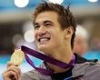 Team USA's Nathan Adrian wins Gold in the men's 100-meter Olympic freestyle... UC Berkeley grad
