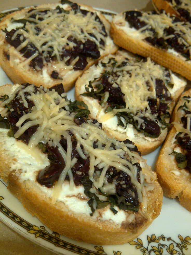 Kalamata Olive Spread*- chopped kalamata olives, minced garlic, olive ...