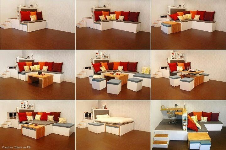 Convertible furniture for small spaces check it out pinterest - Small space convertible furniture image ...