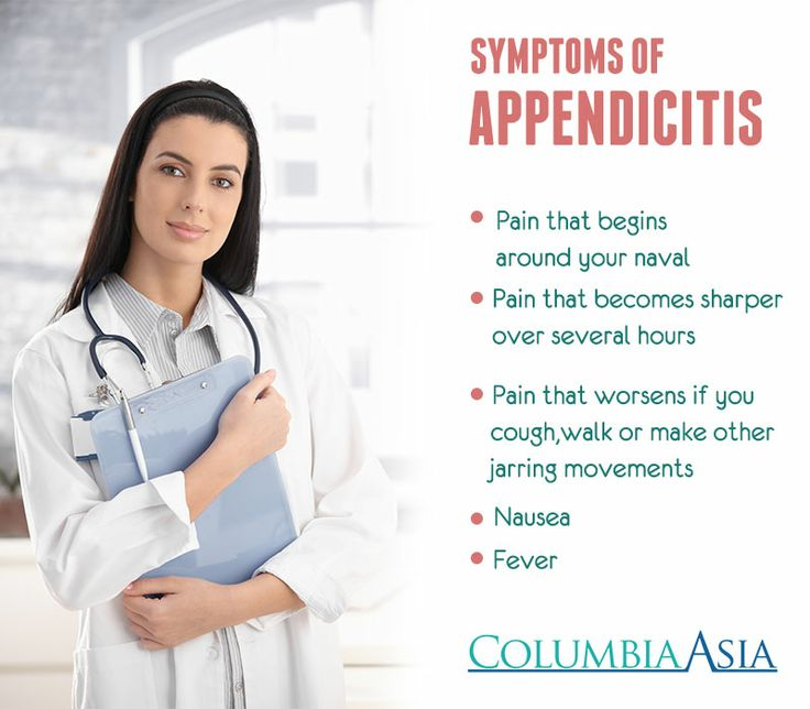 Symptoms of Appendicitis | Tips to Know