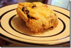 Layered Enchilada Casserole (Freezer Meal)