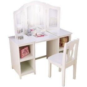 Vanity table for girls room kaylynn s room inspiration pinterest
