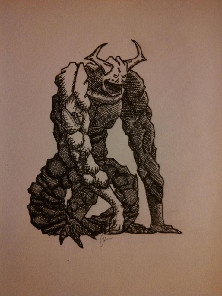 Rock Demon | The Demon Cycle fan board | Pinterest