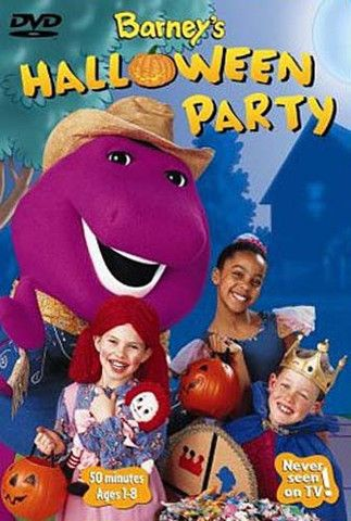 barney's halloween party vhs trailer
