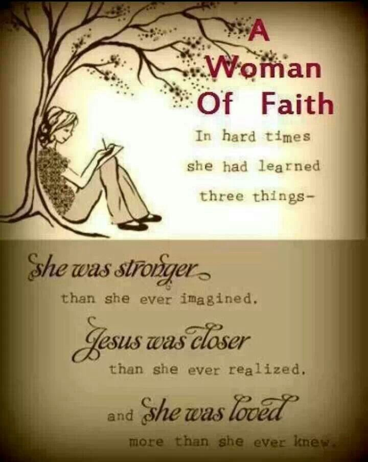 A Woman Of Faith Inspirational Quotes Pinterest
