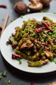 Dry Fried Green Beans | Recipe