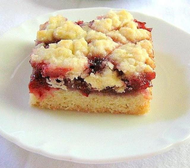 Raspberry Bars | bars & squares | Pinterest