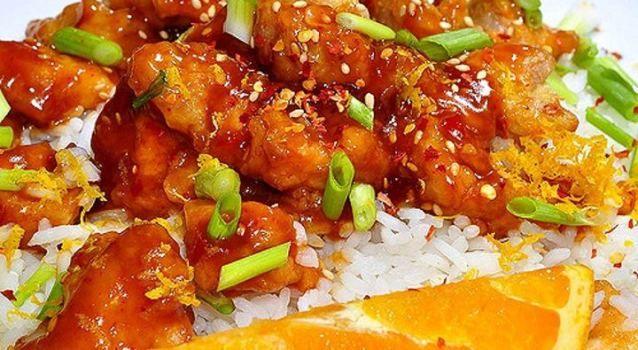 Crock Pot Chinese Orange Chicken | recipes - crockpot | Pinterest