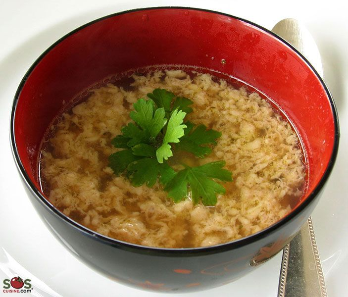 Kale And Parmesan Egg Drop Soup (Stracciatella) Recipes — Dishmaps