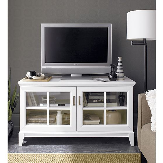 Paterson White 48 Media Console