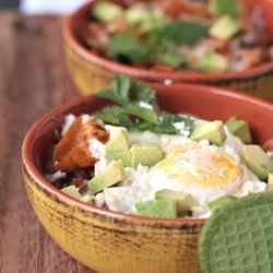 Crispy, melty, rich chilaquiles with fried eggs--the perfect hangover ...