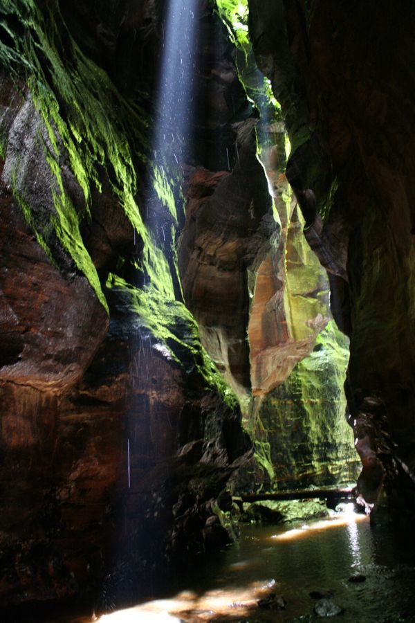 Claustral Canyon, Blue Mountains National Park, NSW, Australia
