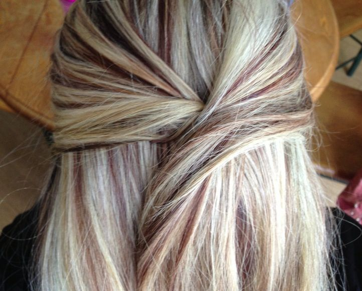 Blonde With Lowlights Hair Pinterest