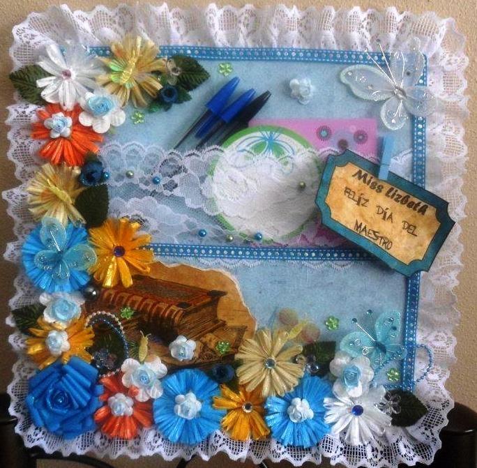 regalo para el dia del maestro | MANUALIDADES | Pinterest