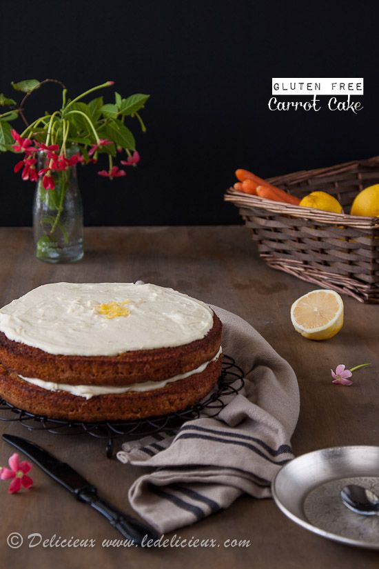 Gluten Free Carrot Cake (Delicieux) best ever? Big call, but always up ...