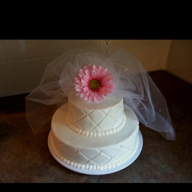 wedding shower cake pasteles ideas pinterest. Black Bedroom Furniture Sets. Home Design Ideas