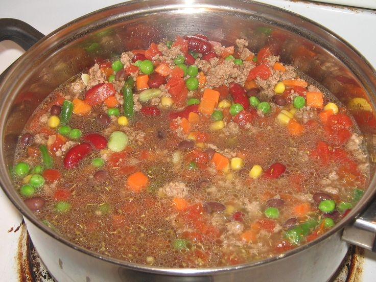 vegetable beef soup | recipes | Pinterest