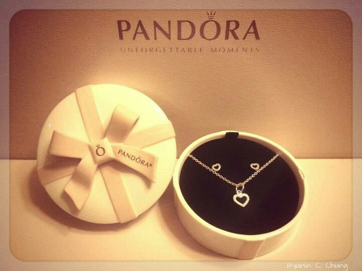 pandora valentine's day jewellery box