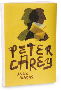 Jack Maggs by Peter Carey • Designed by Jenny Grigg for Random House Australia • As part of the Peter Carey Series (series of nine gatefold covers) • 2006