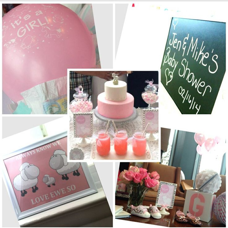 Baby Shower Lamb Theme