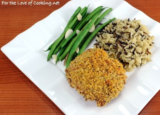 Oven-Fried Buttermilk-Mustard Chicken Thighs with Panko- would ...