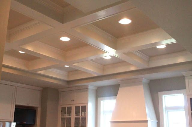 box beam ceiling building a new home pinterest
