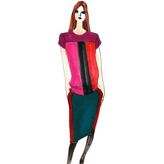 Sketch: Narciso Rodriguez Kohl's Collaboration out in November 2012