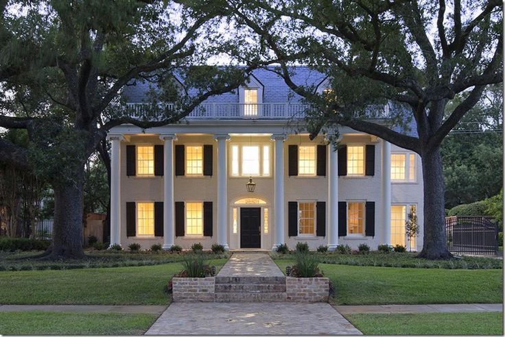 Southern Homes Beautiful Homes Pinterest