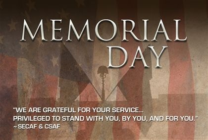 memorial day message for church