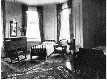 Zelda Fitzgerald's Room at Prangins Mental Hospital
