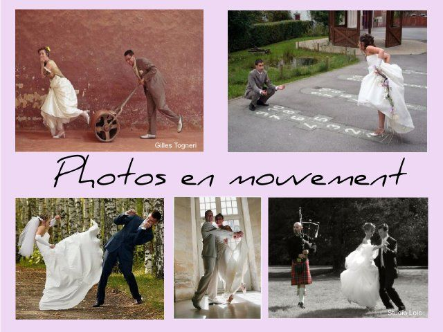 photos en mouvement  Photos de mariage  Pinterest