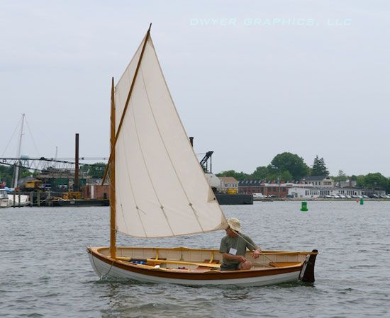 Holy boat: File Wooden dinghy sailboat for sale
