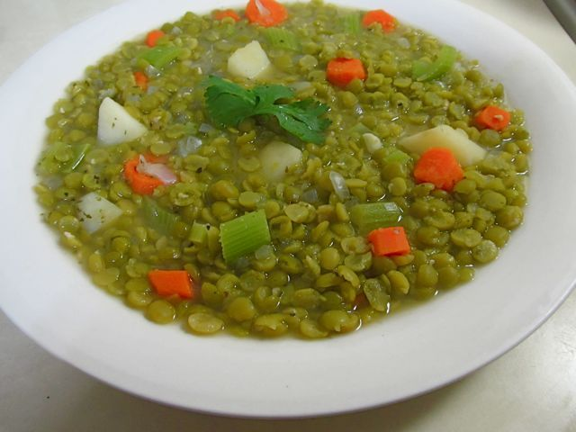Vegetarian Split Pea Soup | Food | Pinterest