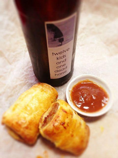 Pork and Chorizo Sausage Rolls | Food | Pinterest