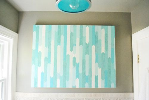 Homemade Painting Via Younghouselove Cute