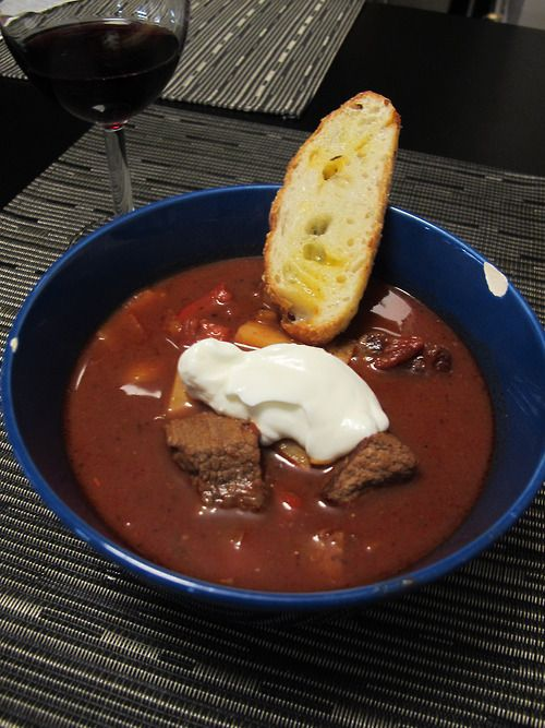 Fast Flavours: Hungarian beef stew | Recipes to Try | Pinterest