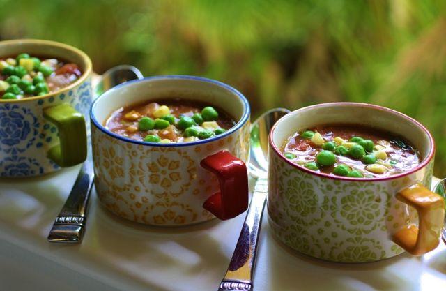 Easy Vegetable Soup | Recipes | Pinterest