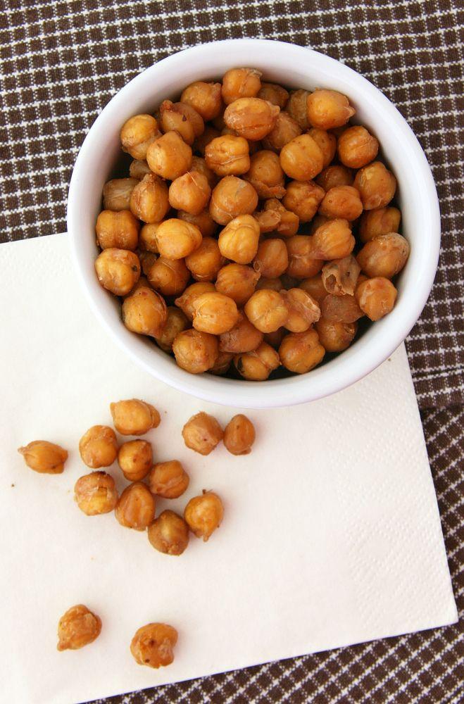 Roasted Fajita-Spiced Chickpeas | Yummy in my tummy! | Pinterest