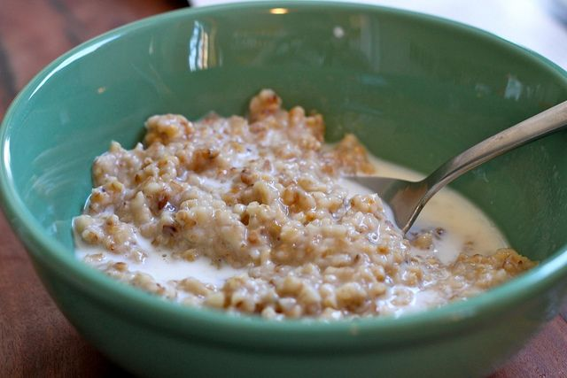 Toast your oatmeal: by The Amateur Gourmet, via Flickr
