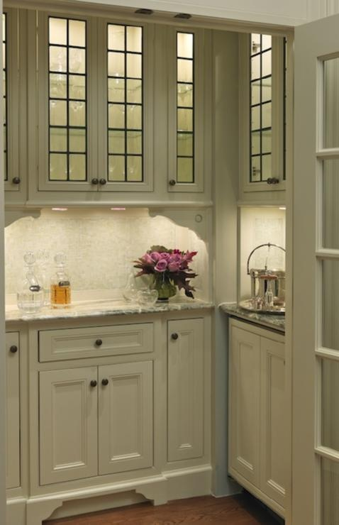 Glass front cabinets kitchens pinterest for All glass kitchen cabinets