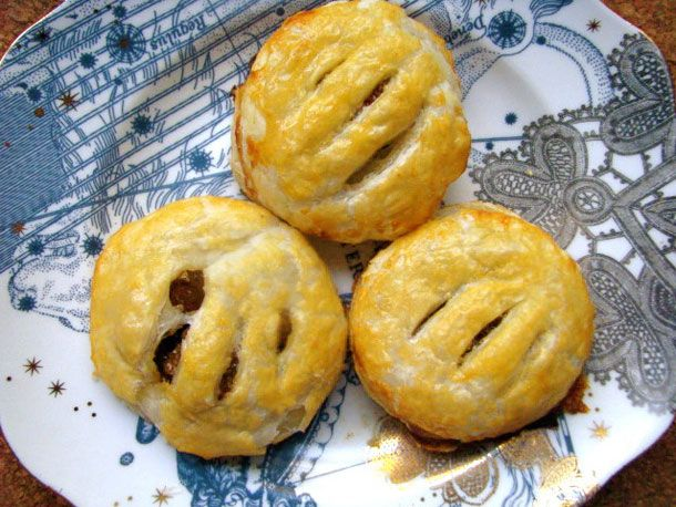 Eccles Cakes (Stuffed Pastry with Brandy-Soaked Raisins) | Recipe