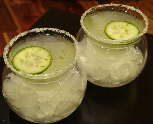 Cucumber Basil Martini | sweets | Pinterest