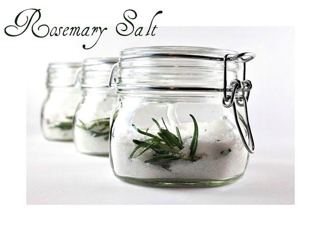 rosemary salt | ~temporary parking only beepbeep~ | Pinterest