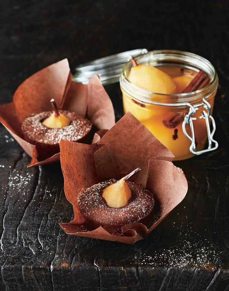 More like this: chocolate cakes , pears and chocolate cake recipes .