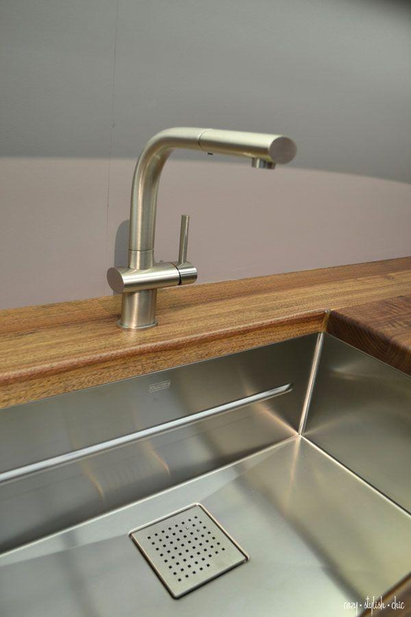 Peak sink and Franke FFPS100 faucet shown in @Jeanne Bright Bright K ...