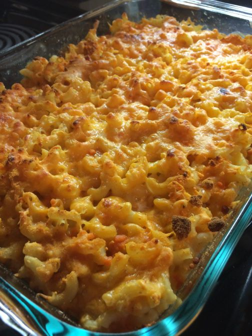 DELICIOUS and easy baked mac and cheese using light ingredients on # ...
