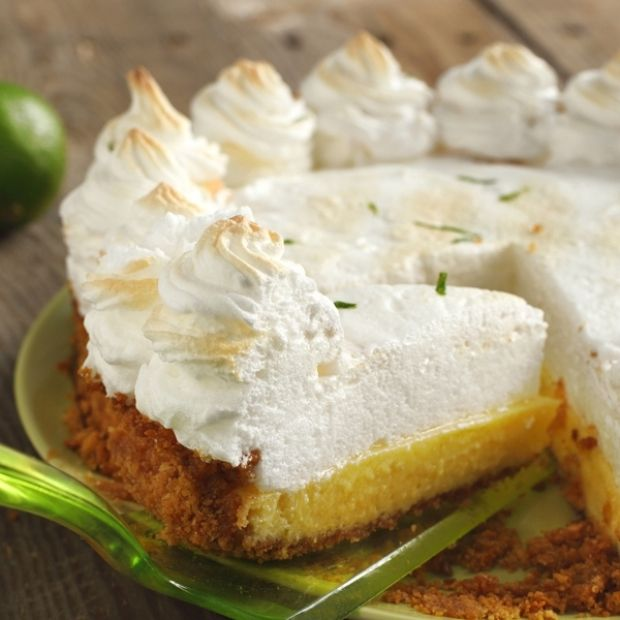 Key Lime Meringue Pie Recipe from Grandmother's Kitchen