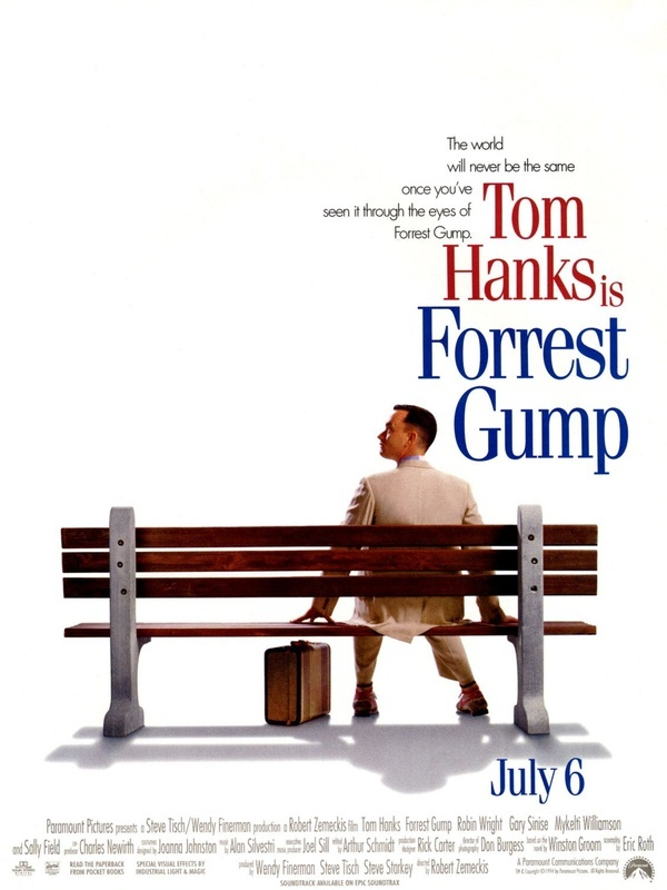 Art there are many great iconic movies from the 90s, but when i think of one in particular that was very successful and i can watch anytime, its Forrest Gump. celebrating-the-90-s