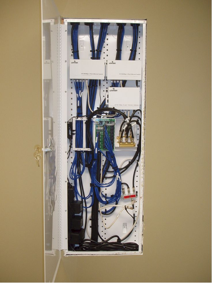 structured wiring cabinet wiring stuff